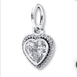 Pandora Sparkling Love Sterling Silver charm